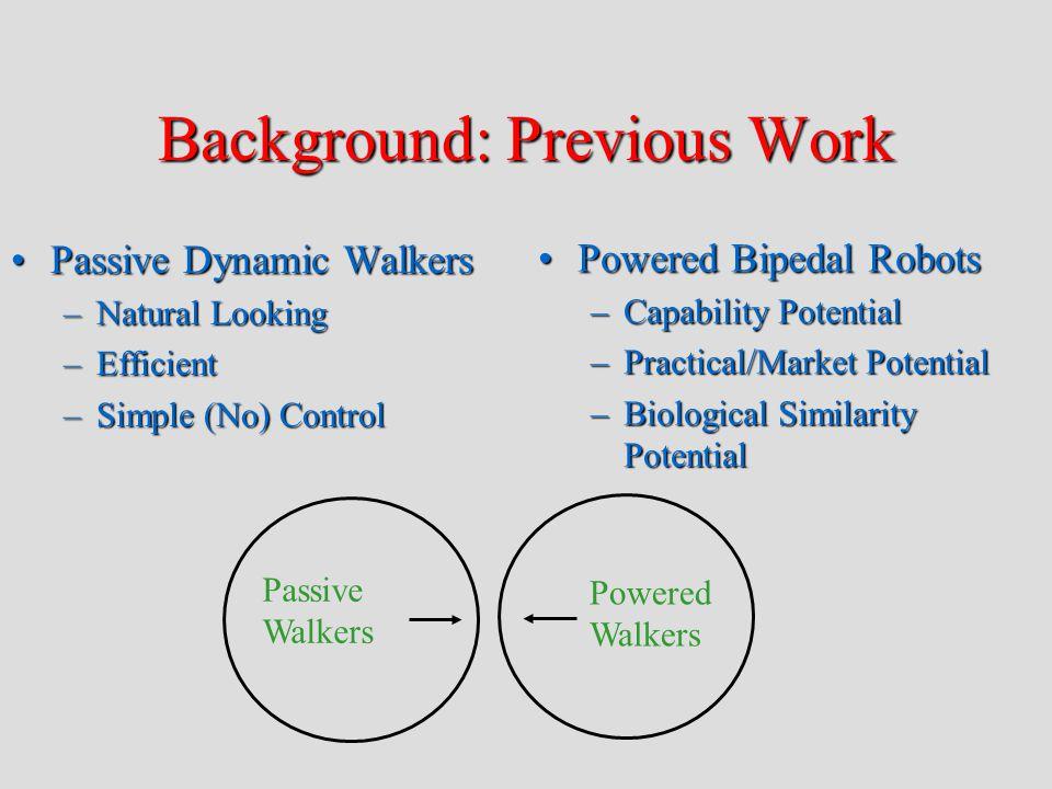 Background: Series Elastic Actuators Motor Gear Train Series Elasticity Load Force Source Load