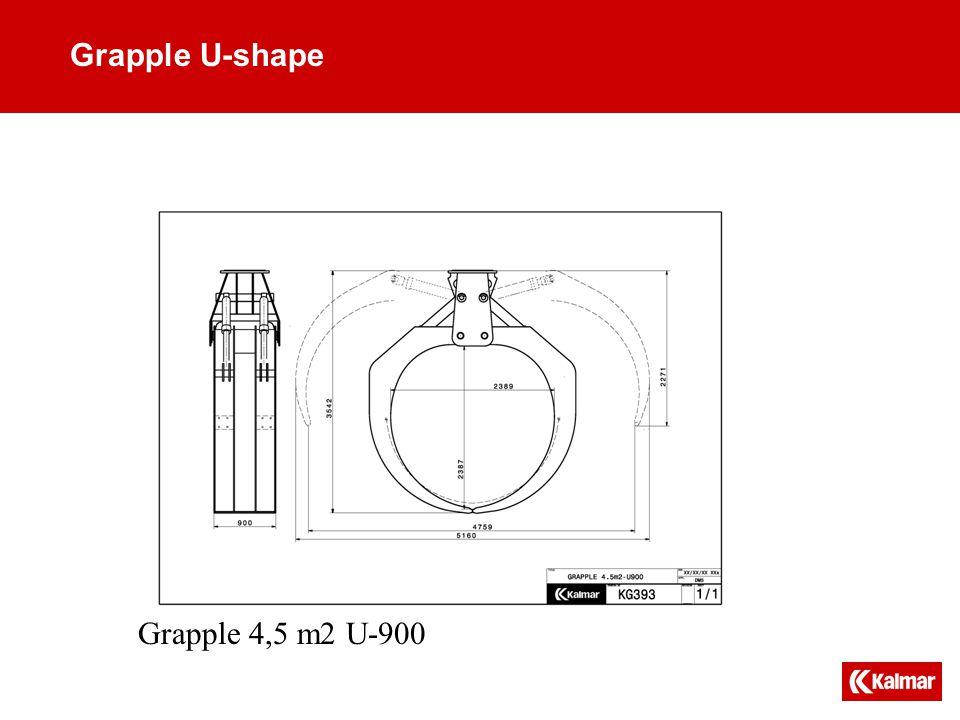 Grapple U-shape Grapple 4,5 m2 U-900