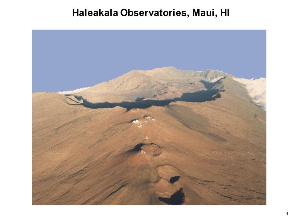 4 Haleakala Observatories, Maui, HI