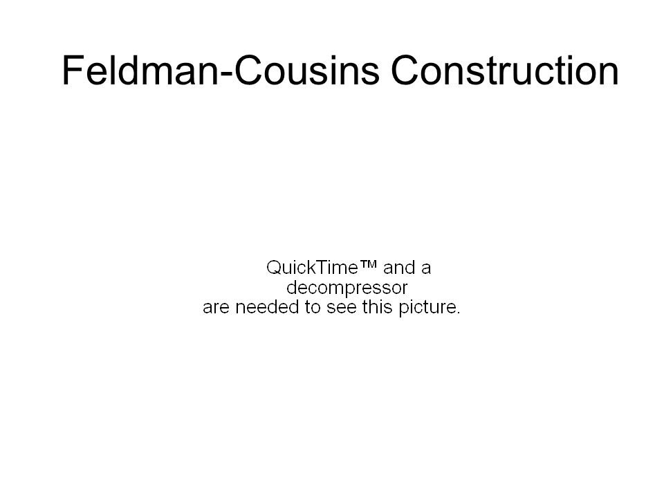 Feldman-Cousins Construction