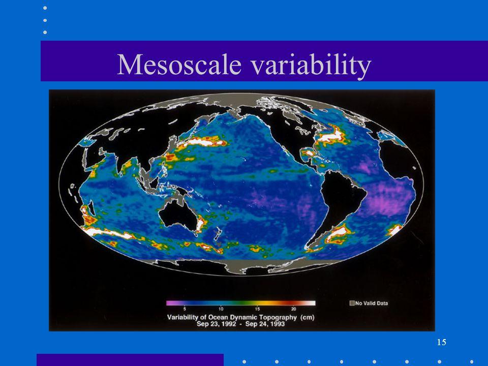 15 Mesoscale variability