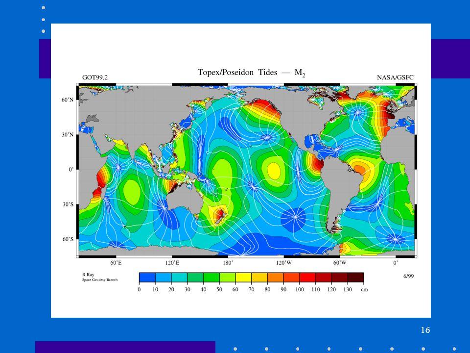16 M2 ocean tide