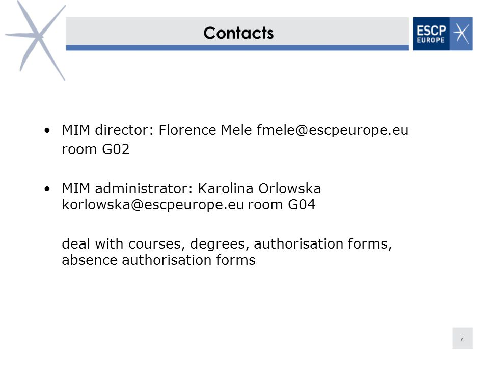 Master in Management 8 The Master in Management is accredited in France, Germany, and validated in the UK Italy and Spain.