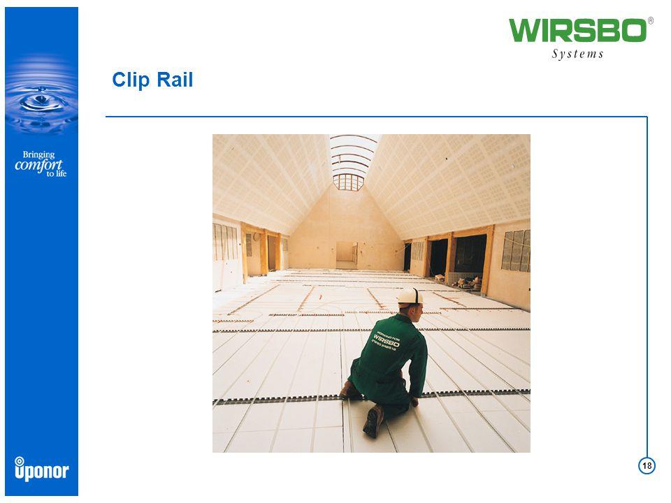 18 Clip Rail