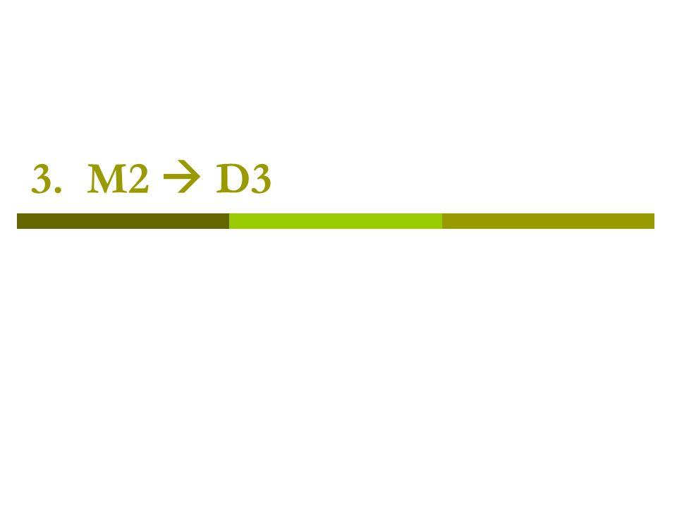 3. M2  D3