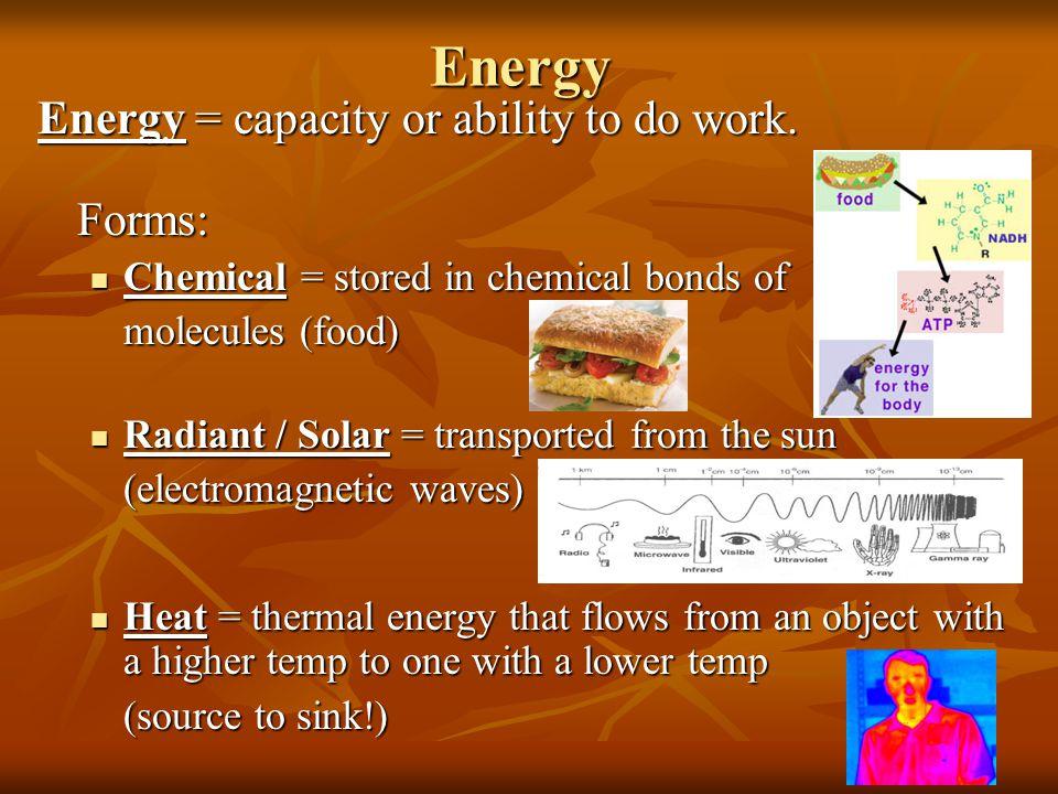 Mechanical = movement of matter Mechanical = movement of matter Nuclear = inside atomic nuclei Nuclear = inside atomic nuclei Electrical = flows as charged particles Electrical = flows as charged particles