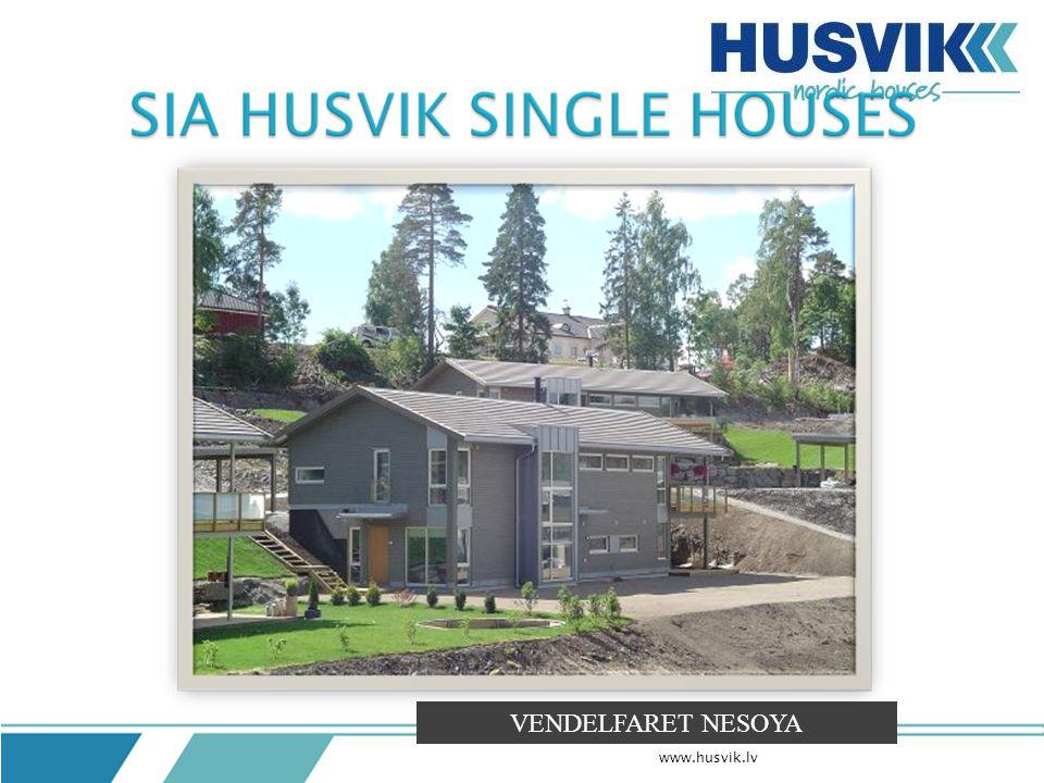 Gross area 264 m2 Overall length 19,3 m Overall width 8,3 m Terrace 21 m2 +3,8 m2 Balcony 23 m2 Full height 7,1 m Room height 2,5 m Knarr concept