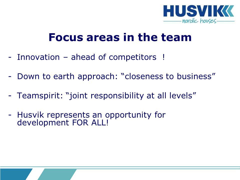 Husvik team work Anchor business understanding and further business development among all.