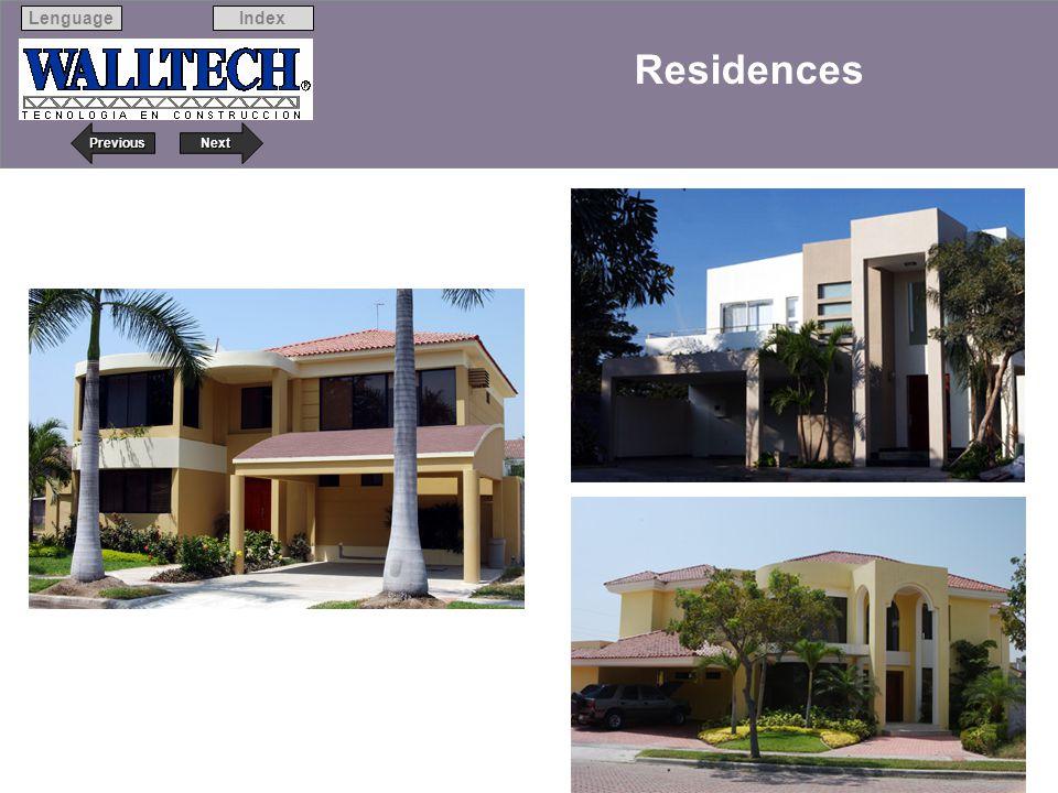 Next Previous IndexLenguage 15 Residences