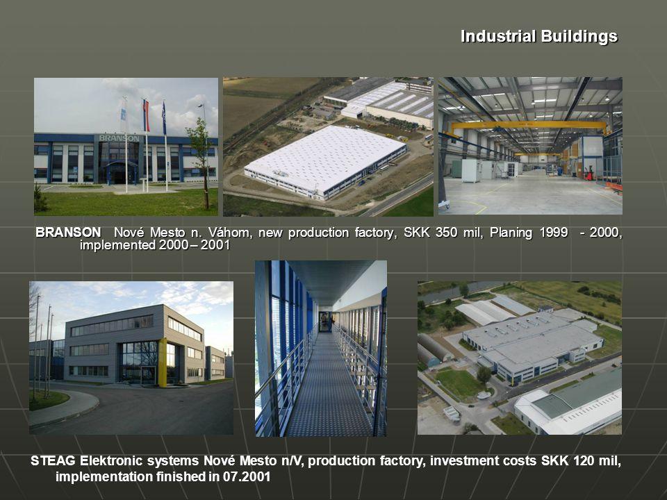 Industrial Buildings Production Plant HEIDELBERG POSTPRESS Ltd.