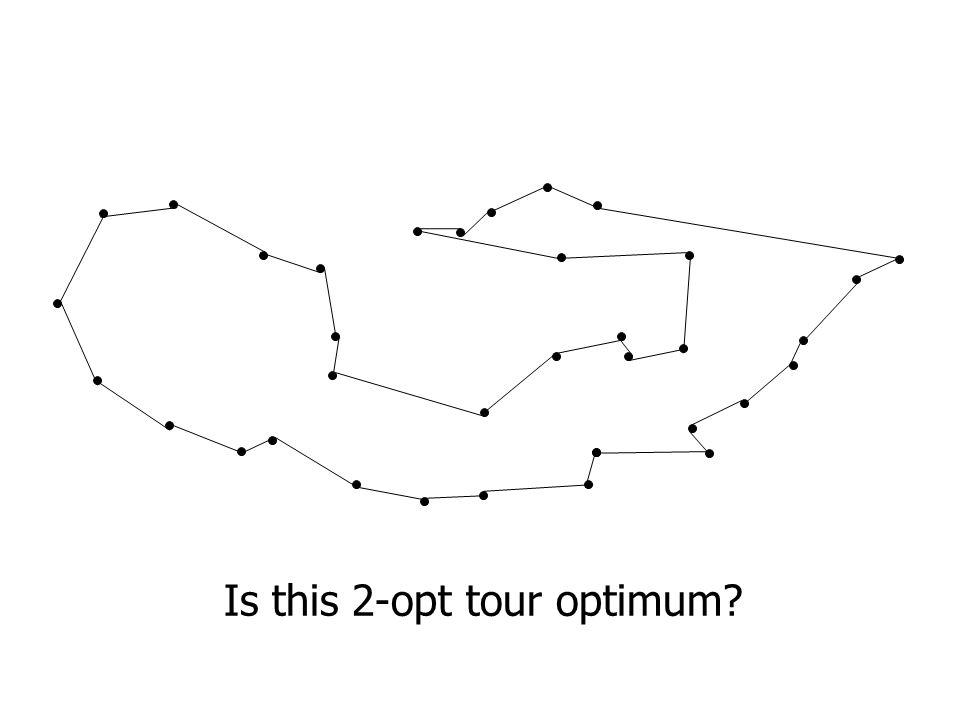 Is this 2-opt tour optimum?