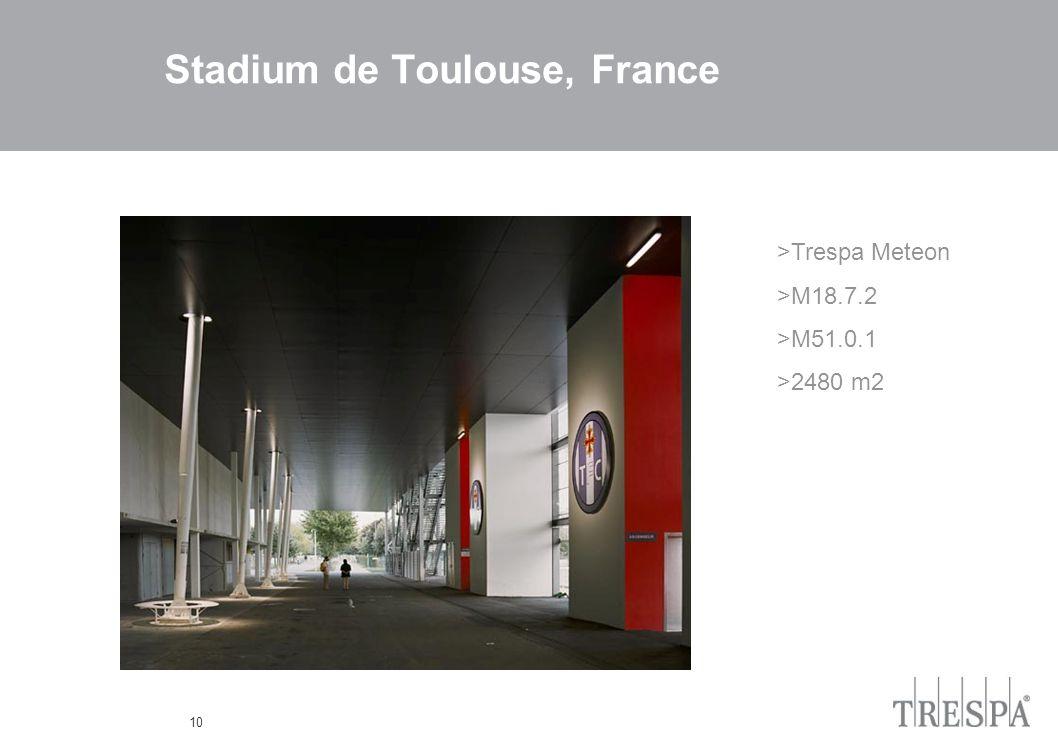 10 Stadium de Toulouse, France >Trespa Meteon >M18.7.2 >M51.0.1 >2480 m2