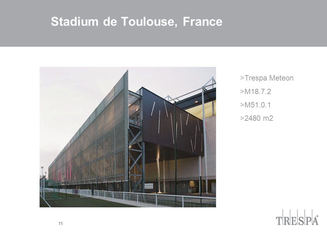 11 Stadium de Toulouse, France >Trespa Meteon >M18.7.2 >M51.0.1 >2480 m2
