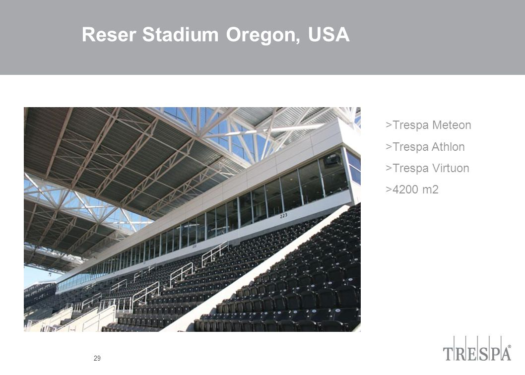 29 Reser Stadium Oregon, USA >Trespa Meteon >Trespa Athlon >Trespa Virtuon >4200 m2