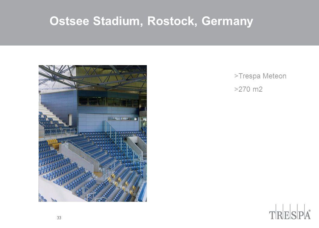 33 Ostsee Stadium, Rostock, Germany >Trespa Meteon >270 m2
