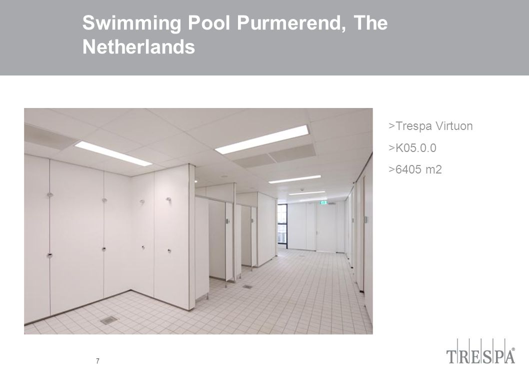 7 Swimming Pool Purmerend, The Netherlands >Trespa Virtuon >K05.0.0 >6405 m2