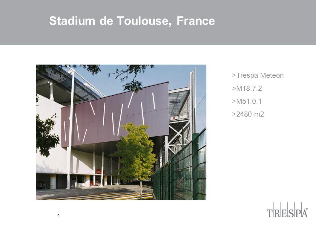9 Stadium de Toulouse, France >Trespa Meteon >M18.7.2 >M51.0.1 >2480 m2
