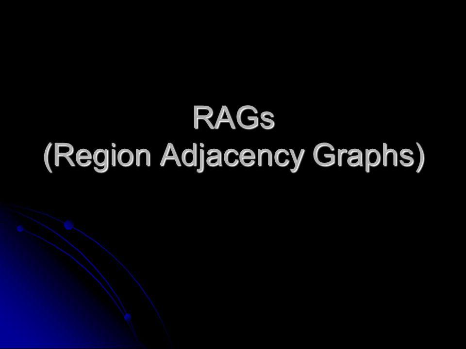 RAGs (Region Adjacency Graphs)