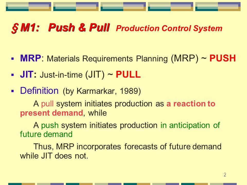 1 Prof. Yuan-Shyi Peter Chiu Feb. 2012 Material Management Class Note # 1-A MRP – Capacity Constraints