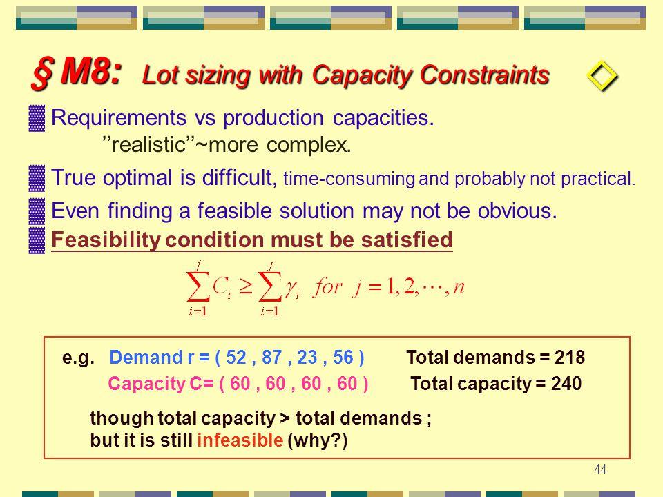 43 §. M 7.2: Class Problems Discussion Preparation Time : 15 ~ 20 minutes Discussion : 10 minutes Chapter 7 : ( # 24, 25 ) Chapter 7 : ( # 24, 25 ) p.