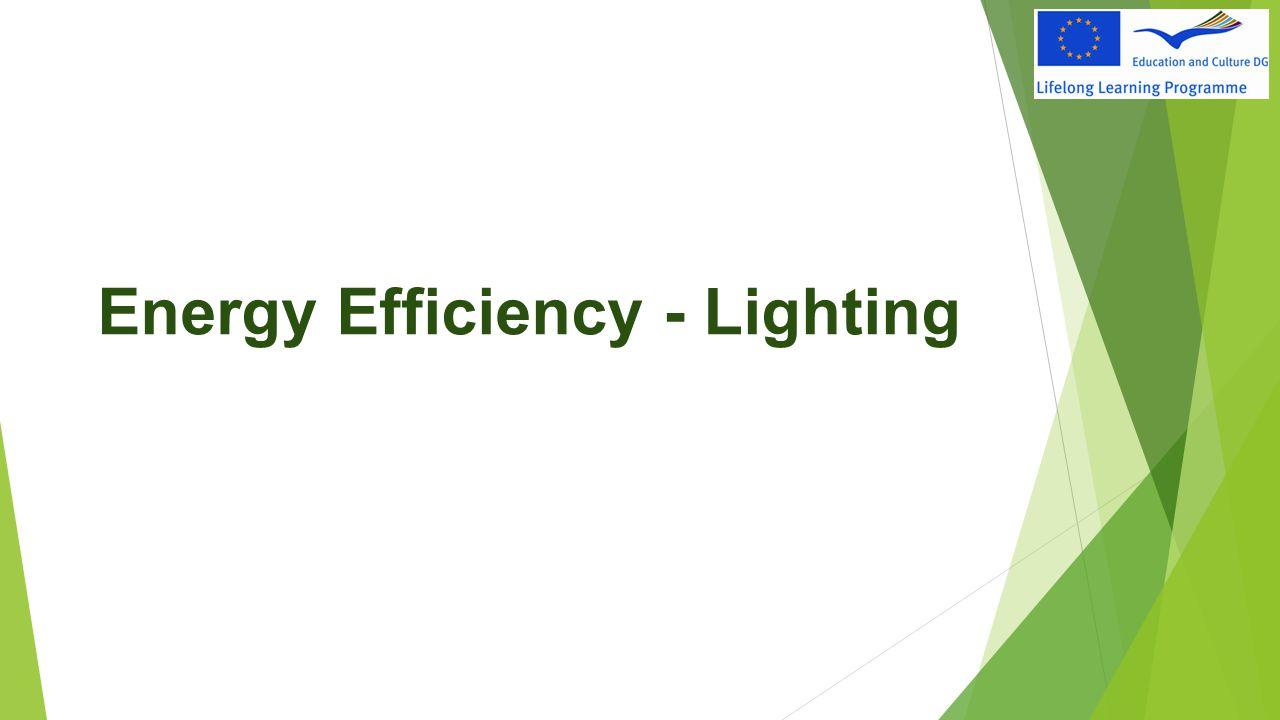 Energy Efficiency - Lighting