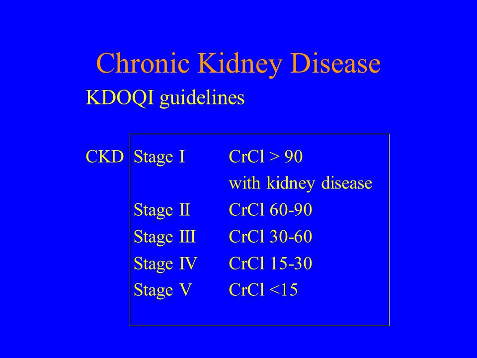 Chronic Kidney Disease CKD Stage No of patients in Coventry (I+II) (III) (IV) (V) 93,826 10,196 1666 678 Total Total III to V 106,366 12,540 Raymond et al.