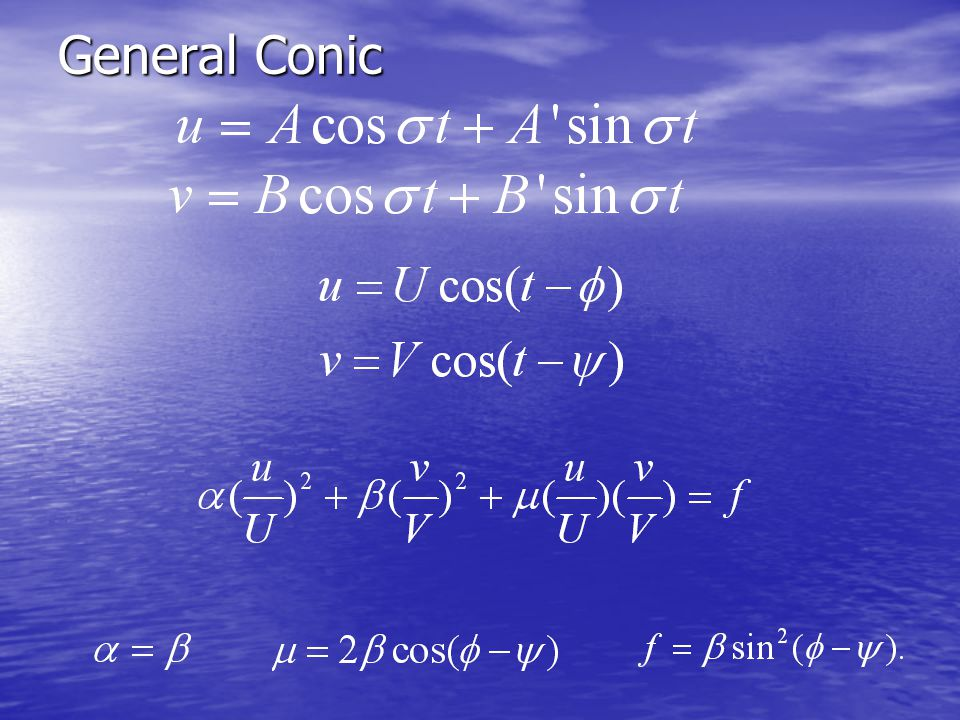General Conic