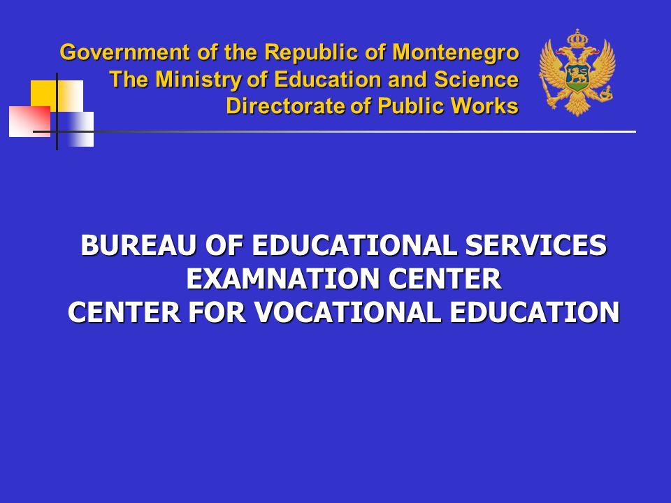 GENERAL: The School belongs to the DUP zone – Drac, Podgorica.