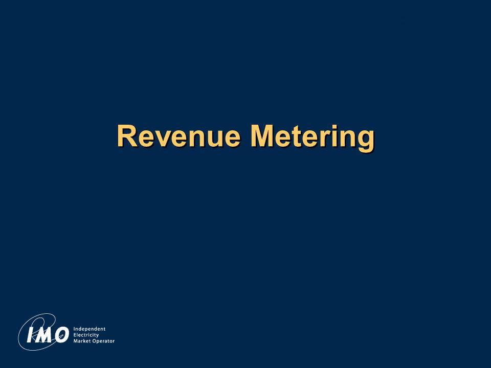 Revenue Metering