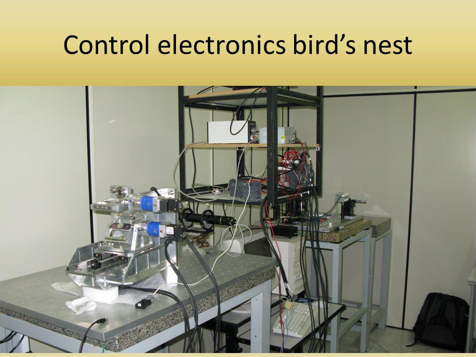 Control electronics bird's nest