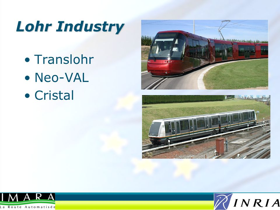 Translohr Neo-VAL Cristal Lohr Industry