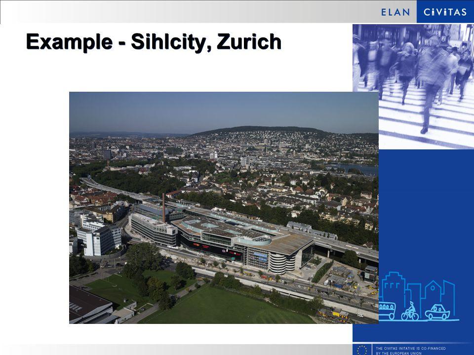 Example - Sihlcity, Zurich