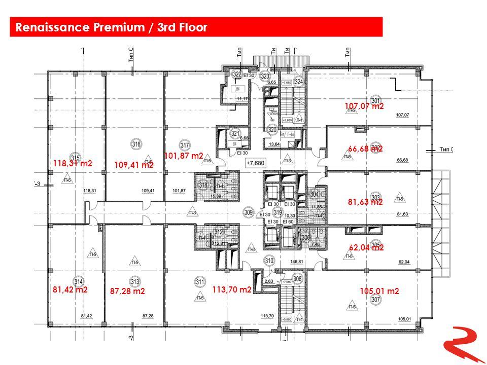 118,31 m2 109,41 m2 101,87 m2 107,07 m2 66,68 m2 81,63 m2 62,04 m2 81,42 m2 87,28 m2 113,70 m2 105,01 m2 Renaissance Premium / 3rd Floor