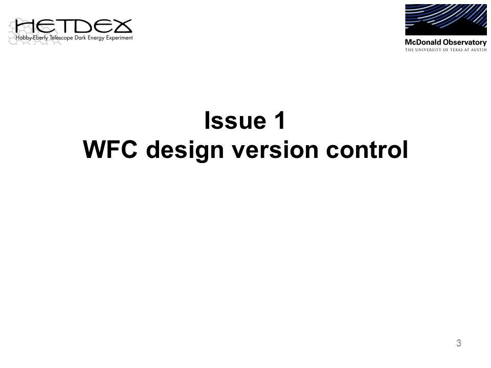 Issue 1 WFC design version control 3