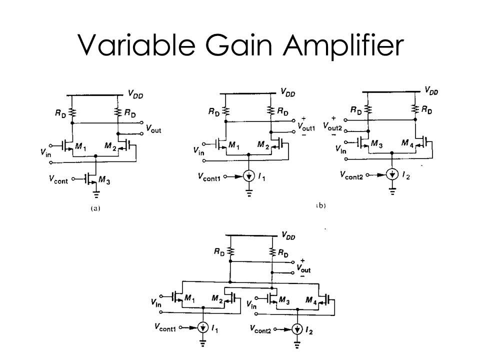 Variable Gain Amplifier