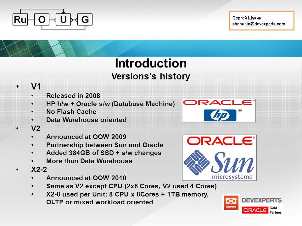 Сергей Щукин shchukin@devexperts.com Introduction Existing configurations V1V2X2-2X2-8 DBStorageDBStorageDBStorageDBStorage Server 8xProLiant DL 360 G5ProLiant 14xProLiant DL180 G5 Sun .