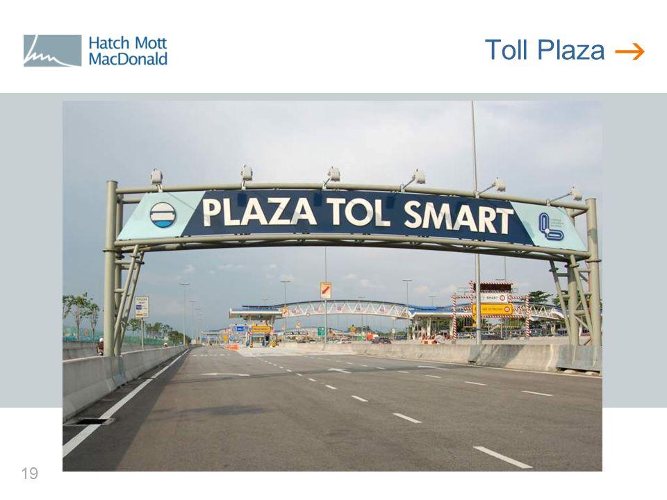  19 Toll Plaza