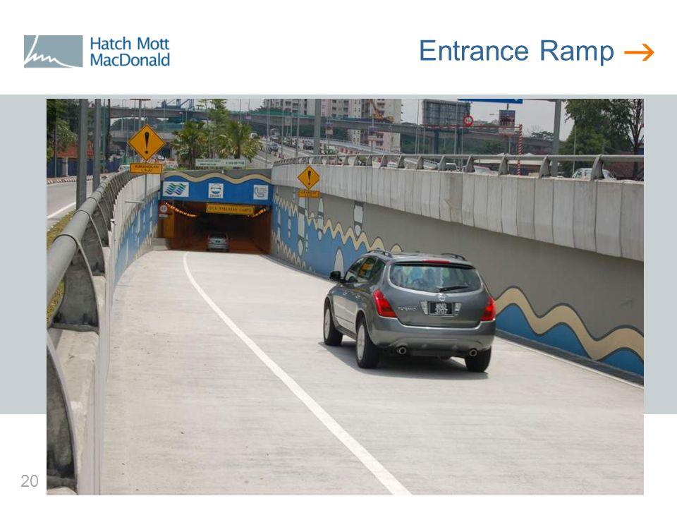  20 Entrance Ramp