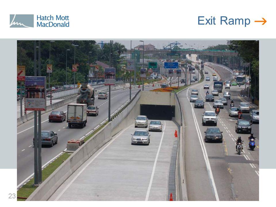  23 Exit Ramp