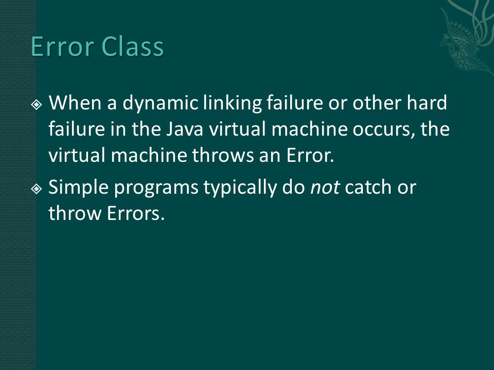 try { //…something might have exception } catch (SomeExceptionClass e) { //handle the exception here } finally { //recover resources } What is something?