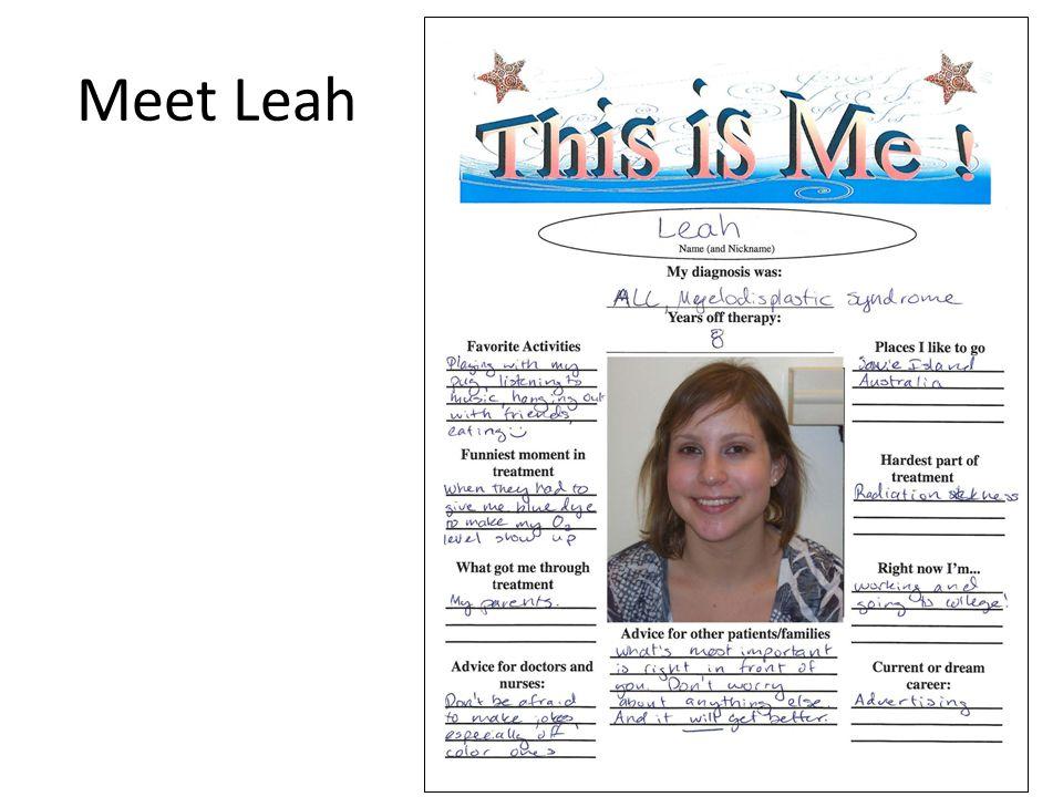 Meet Leah