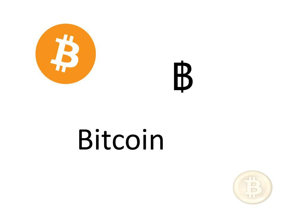 Bitcoin ฿