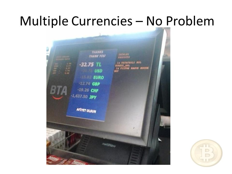 Multiple Currencies – No Problem