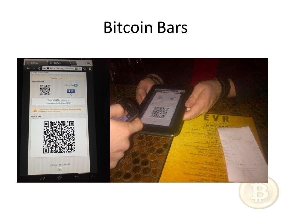 Bitcoin Bars