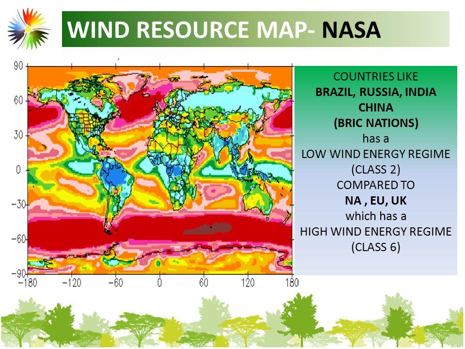 WIND RESOURCE MAP- EU REGION