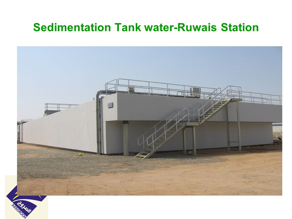 Sedimentation Tank water-Ruwais Station