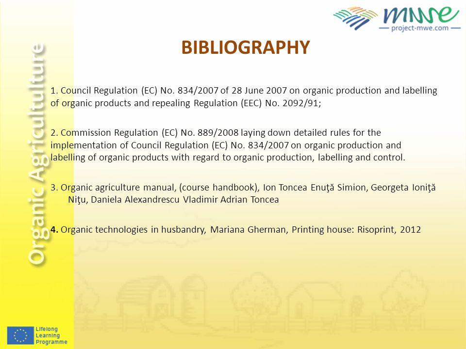 1. Council Regulation (EC) No.