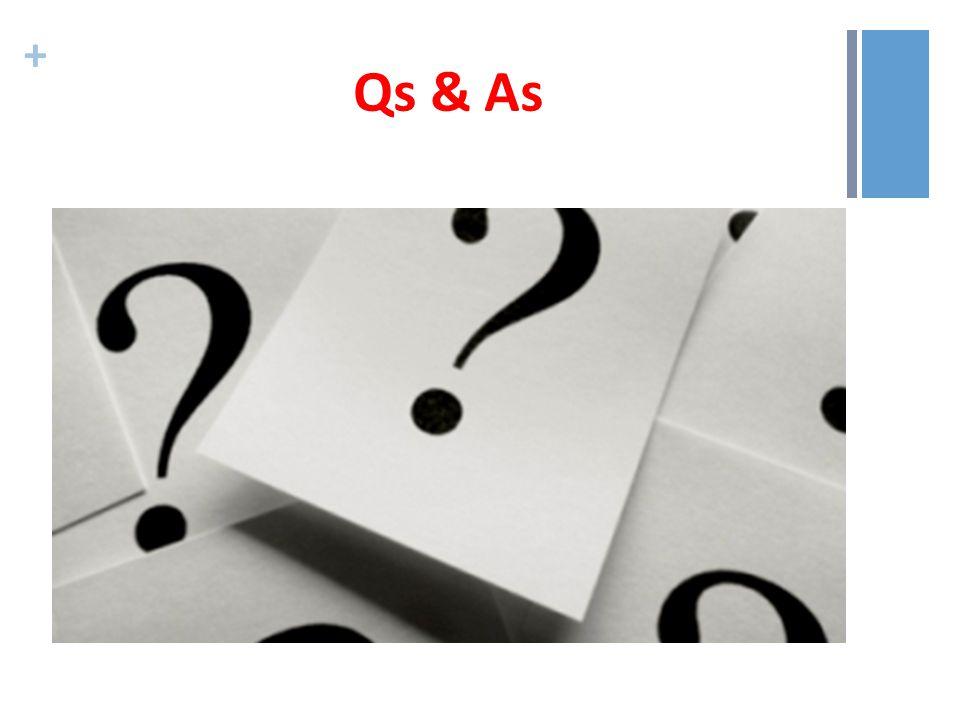 + Qs & As