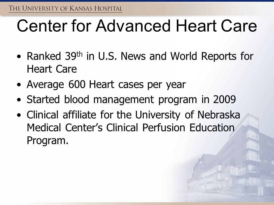 Summary Decreased prime volumes increased on pump Hct respectively in FX15 and FX25 units –However, more pronounced in smaller patients Decrease in blood usage in isolated CABG's for all 2010 when compared to 2009 Marketable decrease in blood usage in isolated valve procedures –AVR intra-op/post-op MVR intra-op/post-op