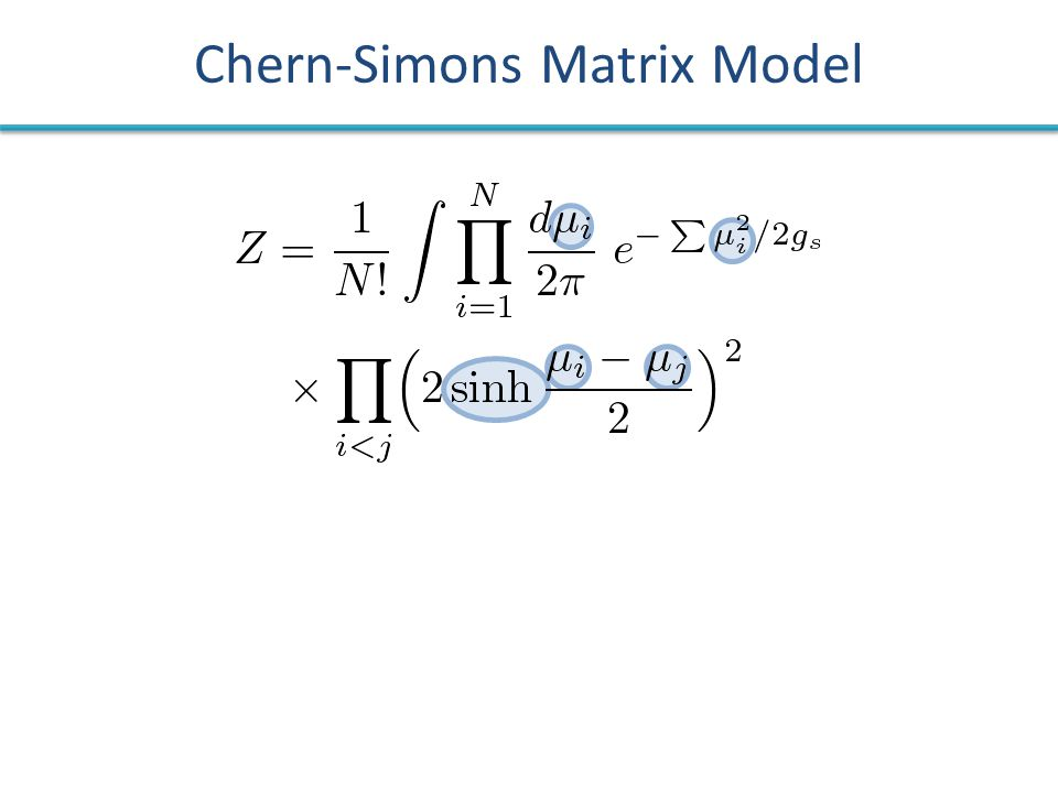 Chern-Simons Matrix Model